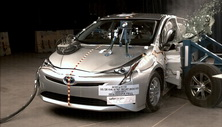 NCAP 2017 Toyota Prius side crash test photo