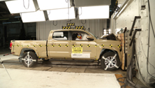NCAP 2017 Toyota Tacoma front crash test photo