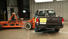 NCAP 2017 Toyota Tacoma side crash test photo