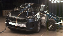 NCAP 2017 Kia Sportage side crash test photo