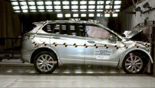 NCAP 2017 Buick Envision front crash test photo
