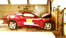 NCAP 2017 Chevrolet Camaro front crash test photo