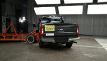 NCAP 2017 Ford F-250 side crash test photo