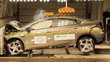NCAP 2017 Chevrolet Volt front crash test photo