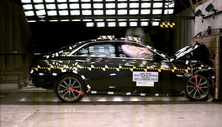 NCAP 2017 Cadillac CTS-V front crash test photo