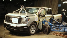 NCAP 2017 Nissan Titan side crash test photo