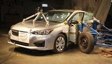 NCAP 2017 Subaru Impreza side crash test photo