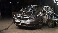 NCAP 2017 Honda CR-V side crash test photo