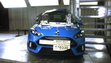 NCAP 2017 Ford Focus side pole crash test photo