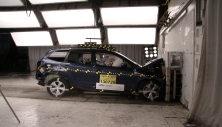 NCAP 2018 Subaru Forester front crash test photo