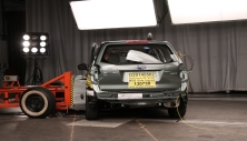 NCAP 2018 Subaru Forester side crash test photo