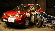 NCAP 2018 Toyota RAV4 side crash test photo
