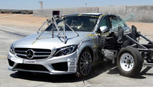 2018 Mercedes-Benz C-Class Sedan Side Crash Test