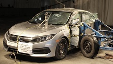 NCAP 2018 Honda Civic side crash test photo