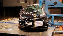 2018 Buick LaCrosse Hybrid Side Pole Crash Test