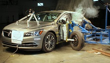 2018 Buick LaCrosse Hybrid Side Crash Test
