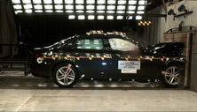 NCAP 2018 Audi A4 front crash test photo