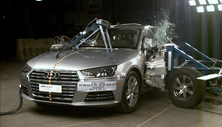 NCAP 2018 Audi A4 side crash test photo