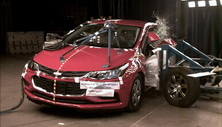 NCAP 2018 Chevrolet Cruze side crash test photo
