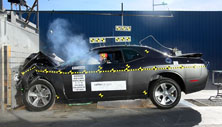 NCAP 2019 Dodge Challenger front crash test photo