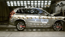 NCAP 2019 Volvo XC90 front crash test photo