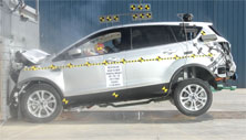 NCAP 2019 Ford Escape front crash test photo