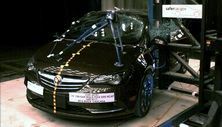 2019 Buick Cascada Side Pole Crash Test