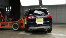 NCAP 2019 GMC Acadia side crash test photo