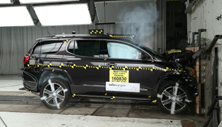 NCAP 2019 GMC Acadia front crash test photo