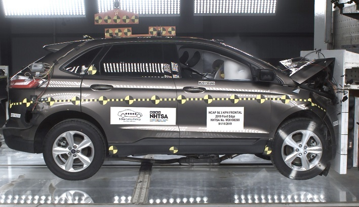 2019 Ford Edge Front Crash Test